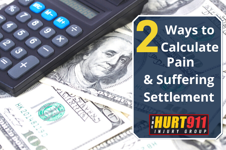 Two Ways to Calculate a Pain and Suffering Settlement