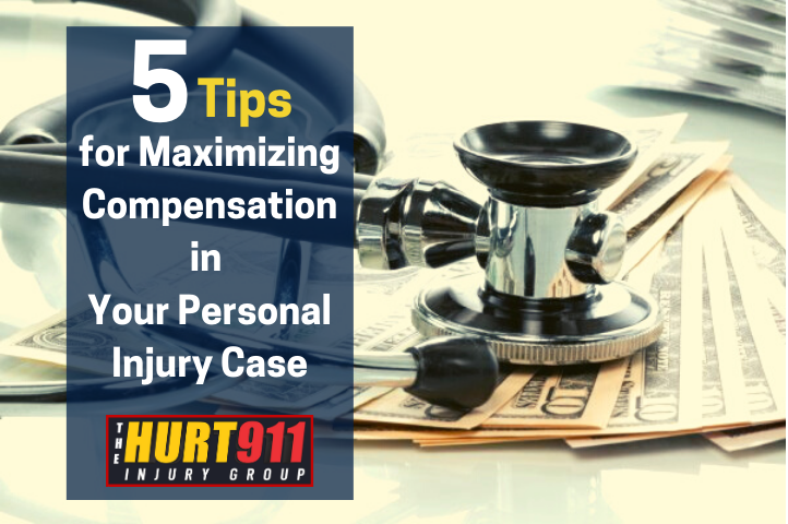 5 Tips for Maximizing Compensation in Your Personal Injury Case