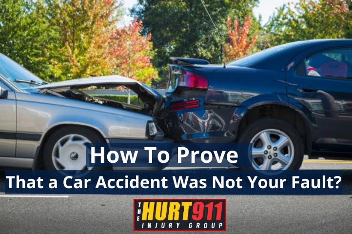 How to Prove You Were Not at Fault in a Car Accident?