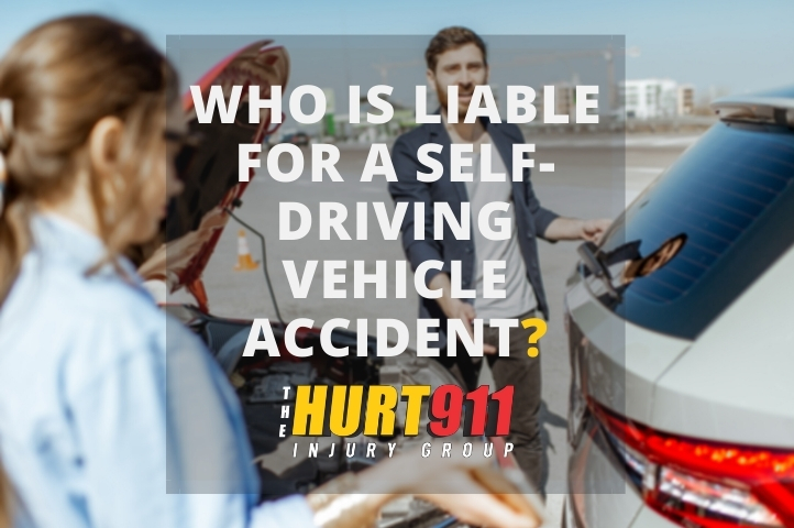 Who is Liable for a Self-Driving Vehicle Accident?