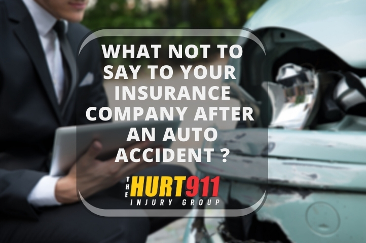What Should You Not Say to Your Insurance Company After an Auto Accident in Georgia?