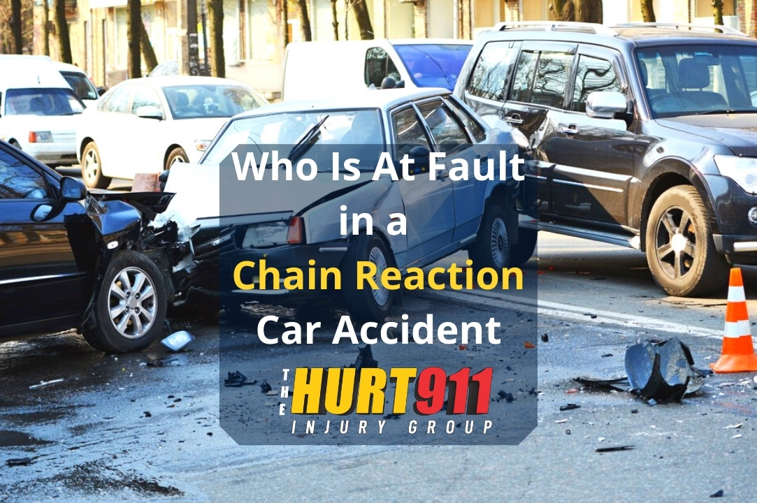 Who Is At Fault in a Chain Reaction Car Accident?