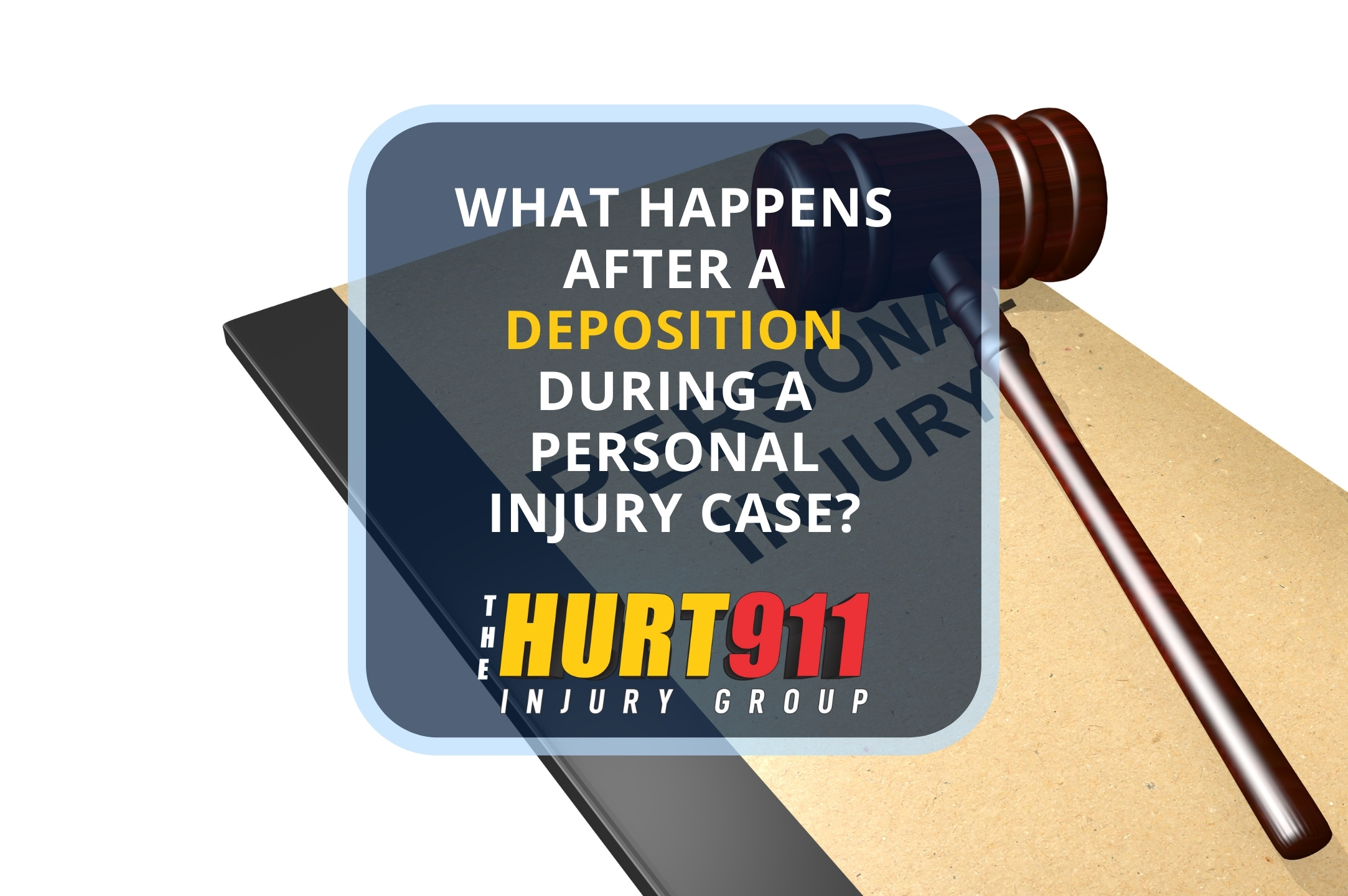 What Happens After a Deposition During a Personal Injury Case?