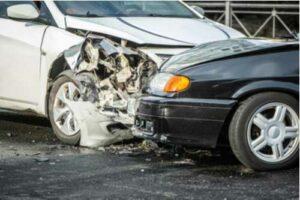 Traffic accident near Downtown Atlanta